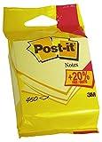 Post-it 5426P Haftnotiz Würfel, 450 Blatt, 76 x 76 mm, gelb