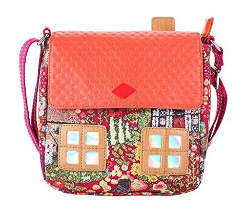 Oilily Cottage Shoulder Bag Fuchsia (Oilily Kindertasche)