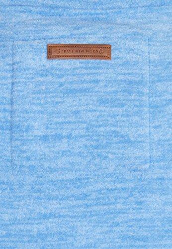 Naketano Male Zipped Jacket Der Gedudelte V Sky Blue Melange