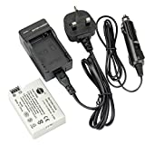 DSTE® LP-E8 Rechargeable Li-ion Battery + DC99U Travel and Car Charger Adapter for Canon EOS 550D 600D 650D 700D Kiss X4 Kiss X5 Kiss X6i X7i Rebel T2i T3i T4i T5i Digital Camera