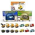 Induktive Auto Spielzeug Set Induktives für Kinder Autopilot Magic Inductive Car Toy Set Geburtstag Geschenke von COZYER