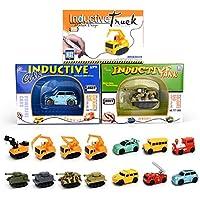 Induktive Auto Spielzeug Set Induktives für Kinder Autopilot Magic Inductive Car Toy Set Geburtstag Geschenke