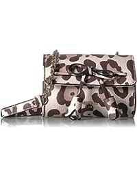 1670cd5721 GUESS Leila Leapard Mini Crossbody Flap
