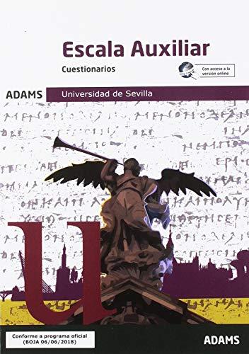 Cuestionarios Escala Auxiliar Universidad de Sevilla