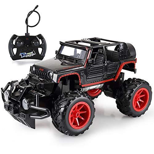 Kikioo 1:16 Big RC Auto Wireless Remote 2,4 GHz Geländewagen Crawler High Speed   Schnelle Buggy Spielzeug 4WD Elektro Racing Monster Truck Climber Crawler Chariot Mit Akku Für Kinder