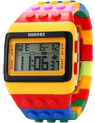 hr Armbanduhr Digital Sport Uhr LED091 (Spiele Verkauf Kleider)