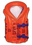 Bema 18028 aufblasbare Schwimmlernhilfe, orange,für Kinder von 2-6 Jahren,Gewicht: 15kg