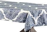 Halben Preis Drapes Royal Designer Kunstseide Taft Tischdecke, Mendi, 54x 84