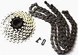 Fahrrad Kette/Kassette Set 21 Gang Shimano HG40/HG41