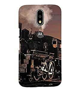 PRINTSHOPPII GLASSES Back Case Cover for Motorola Moto G4 Plus