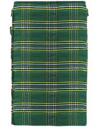 Irischer Kilt Deluxe - Tartanmuster - Grün - Herren