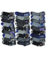 10 Stück Jungen Sneaker Socken Größe 32-39 Alle Preise inkl. gesetzlicher Mehrwertsteuer
