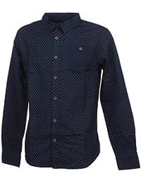 chemise dee luxe trefor bleu