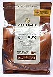 Callebaut N° 823 (33,6%) - Chocolat de Couverture au Lait Belge - Finest Belgian Milk Chocolate (Callets) 2,5kg