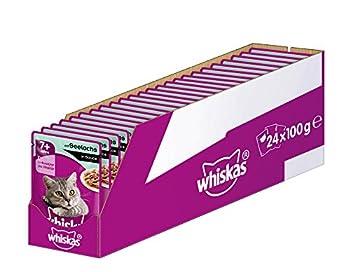 Whiskas Nourriture pour chats âgés de 7 ans et+