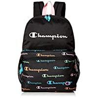 Champion Kids' Backpack, Black/Multi, One Size
