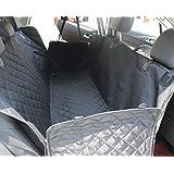 ELETIST SITZKISSEN SCHUTZ II Auto Hundedecke Kofferraumschutz Rundumschutz Mit Sitzanker,Wasserdicht Undurchlässig Einfache Reinigung, Auto Hundedecke hund autositz ,140*130(cm) Schwarz,Alle Modelle gelten