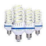 4er 20W E27 LED Lampen, 20W LED Birnen ersetzt für 150W Glühlampen, 6000K Kaltweiß, 360° Abstrahlwinkel, 1700lm, Nicht Dimmbar Energiesparlampe, LED Leuchtmittel