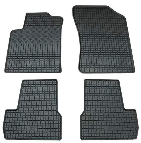 Pieds en caoutchouc tapis Set pour C3 + DS3 à partir de 2010 de pieds en caoutchouc Tapis Tapis en caoutchouc