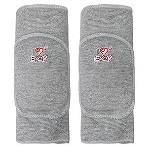 BXT 1 Paar Baumwolle Kinder Knieschutz Baby Knieschoner Sicherheit Schwamm Knieschützer Kniebandage für Sport und…
