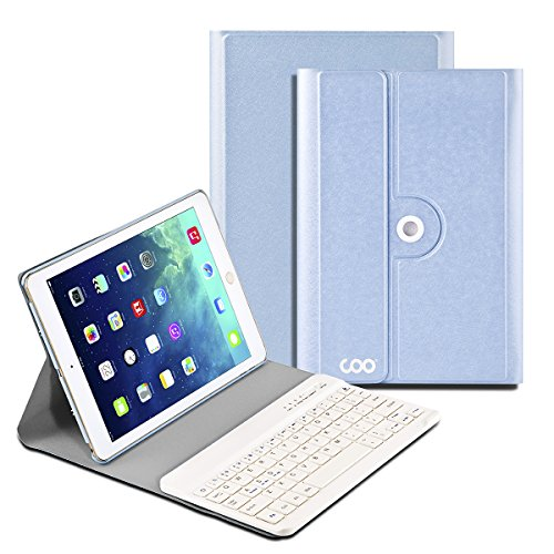 iPad-Air-1-2-Keyboard-COO-Wireless-Removable-Bluetooth-Keyboard-Case-for-Apple-iPad-Air-1-2-with-360-Degree-Rotation-and-Multi-Angle-Stand