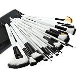Abody 36pcs Holz Make-up Pinsel Set Berufskosmetik Bürsten Set
