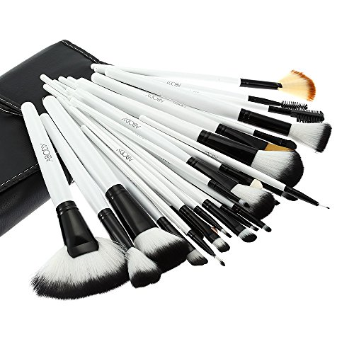 e-up Pinsel Set Berufskosmetik Bürsten Set + Tasche (Make-up-set)