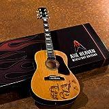 John Lennon Give Peace a Chance Acoustic Guitar Model: Miniature Guitar Replica Collectible