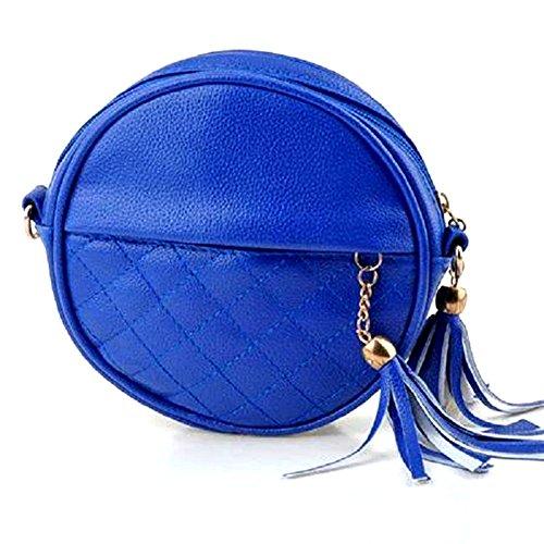 GSPStyle 002935-P, Borsa a spalla donna blu (blu)
