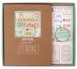 Toga KT77  Kit de Papeterie Classeur de Recettes Papier Multicolore 25,5 x 22,5 x 3,5 cm