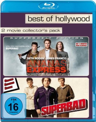 Ananas Express/Superbad - Best of Hollywood/2 Movie Collector's Pack [Blu-ray] -
