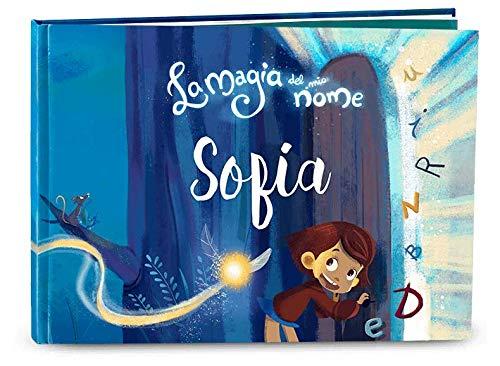 Libro personalizzato per bambini La magia del mio nome - Regala un magico libro