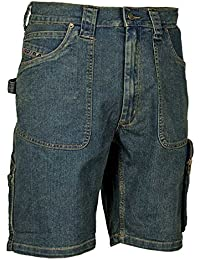 'Cofra V157–0de 00.z44trabajo Pantalones Cortos Havana, Azul, tamaño 44