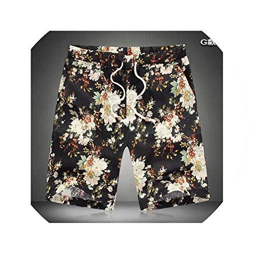 Men's Fashion Summer Print Casual Shorts Young Men's Summer Travel Slim Beach Shorts 14 Colors Asian Size M 4XL,G,XL (Zip-up Hoodie Irish)