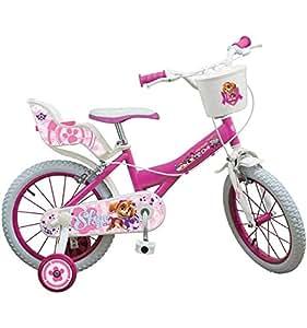 Toimsa 1675 16 inch paw patrol girls bicycle amazon co uk toys
