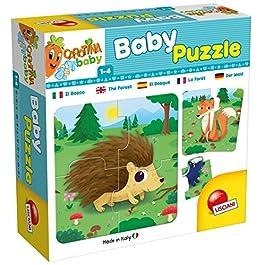Lisciani Giochi- Carotina Baby Puzzle Il Bosco, 65417.0