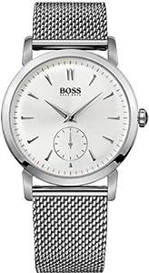 Reloj Hugo Boss 1512778 de cuarzo para hombre con correa de acero inoxidable, color plateado de Hugo Boss