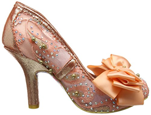 Irregular Choice Ascot, Escarpins femme Rose