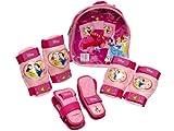 Codimex 19-533 Disney Princesses Rollschuhzubehör-Set mit Rucksack, Knie-, Ellenbogen- und Handgelenkschützern
