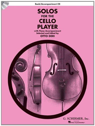 Solos For The Cello Player: Partitur, Stimme(n), CD für Cello, Klavier