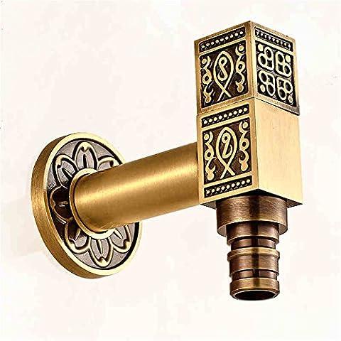 FHLYCF tous les 4 antique robinet mop piscine cuivre paroi frigorifique spécial linge 6 robinet tap robinet