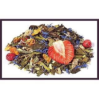Grüner Tee-Frucht-Kräuter-Mischung