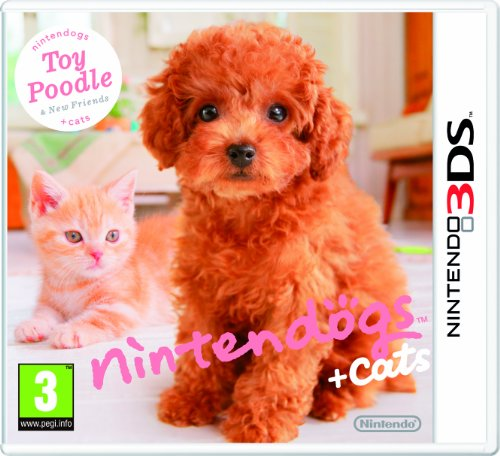 Nintendogs + Cats - Toy Poodle + New Friends (Nintendo 3DS) [Importación inglesa]