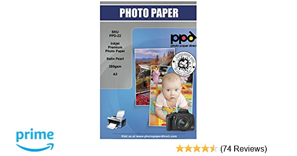 50714 Permajet Smooth Pearl 280 GSM A4 50 Sheets Digital Photo Paper