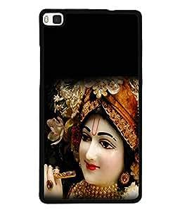 PrintVisa Designer Back Case Cover for Huawei P8 (Cute Design Of Lord Krishna )
