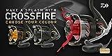 Daiwa Crossfire Spinning Reel Rouge Noir-Toutes Les Tailles, Rouge/Noir, CF2500RB