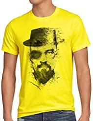 style3 Walter Crystal T-Shirt Homme meth white tv serie