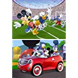 Mickey Mouse Clubhouse - Puzzle, 2 x 100 piezas (Ravensburger 10649 3)