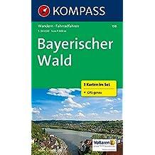 Bayerischer Wald 1 : 50 000: Wandern (inkl. Rad. 3 Karten im Set und GPS-genau)