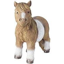 Grande realista caballo de pie diseño de pony Shetland decorativa de jardín (polirresina), diseño de Estatua de